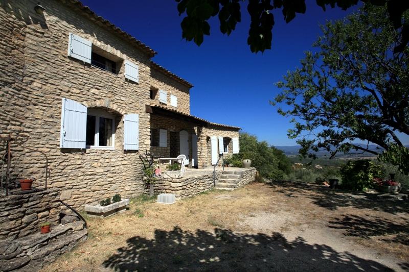 Maison à Gordes avec vue exceptionnelle