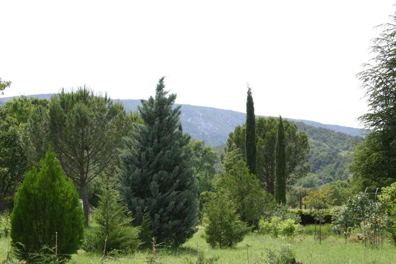 Terrain à batir proche Ménerbes avec vue sur le Luberon