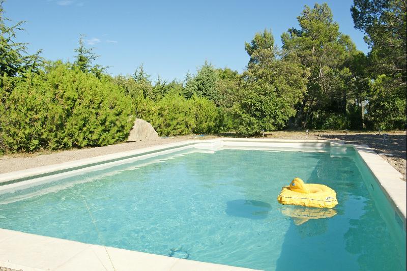 Proche Luberon, jolie villa en pierres rénovée en 2007 à l'orée d'un village perché