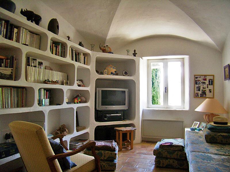 Superbe construction en pierres de Gordes avec vue sur le Luberon