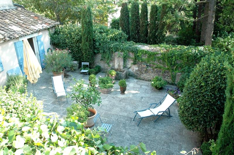 Maison de village avec jardin clos