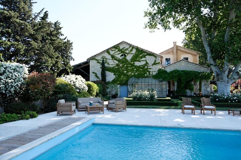 Ancien mas viticole en Provence