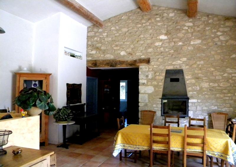Maison Gordienne face au Luberon