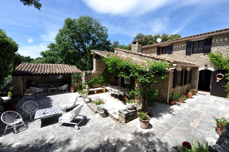 Maison en pierres de Gordes