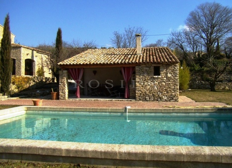 Awesome Luxury Real Estate Provence : Stone House In Luberon With Swimming Pool And Pool  House