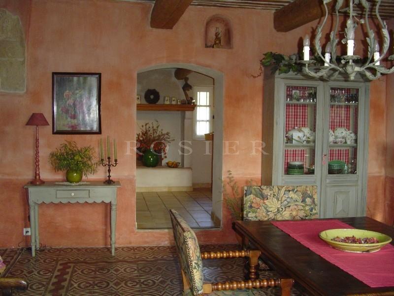 Mas du XVIIIème siècle restauré proche du Luberon, Provence