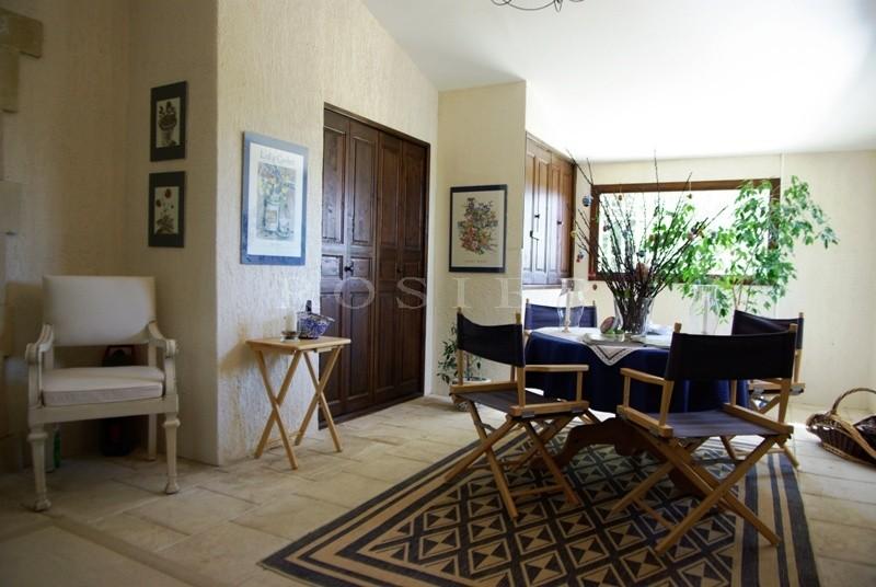 Maison récente avec piscine au coeur du Luberon sans être isolée