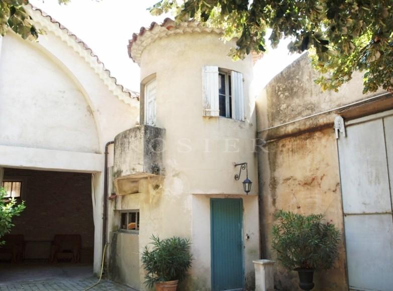 En Provence,entre Alpilles et Luberon,  luxueux hôtel particulier à vendre, avec terrasse et jardin,