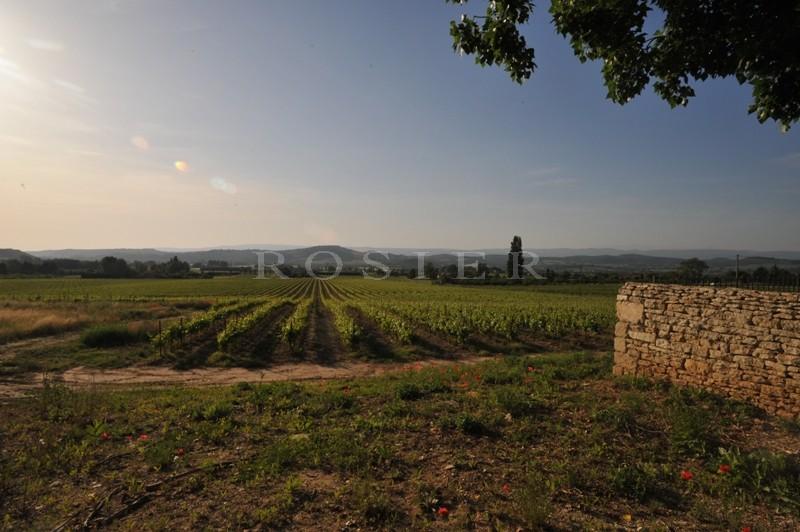 A vendre,  au milieu des célèbres villages perchés du Luberon, exceptionnelle propriété sur 18 hectares de terres.