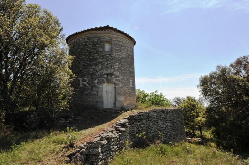 Moulin provençal à aménager entre Monts du Vaucluse et Luberon - Lieu unique et privilégié