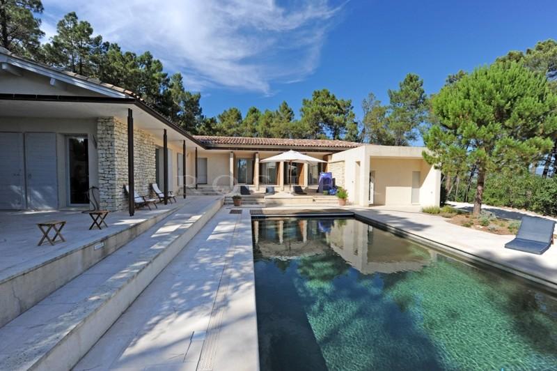 ventes luberon maison contemporaine avec un plan With plan d une belle maison 11 ventes luberon maison contemporaine avec un plan