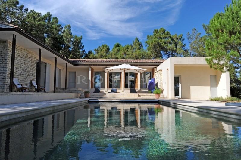 Luberon - Maison contemporaine avec un plan intérieur correspondant aux attentes actuelles