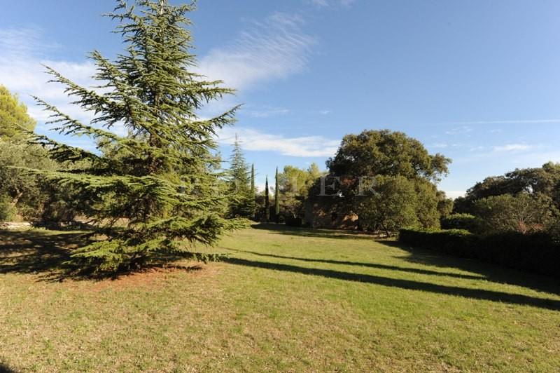 Provence, proche de l'Isle sur la Sorgue  à vendre, maison ancienne rénovée,  sur un beau parc de plus de 4000 m² avec piscine et jacuzzi