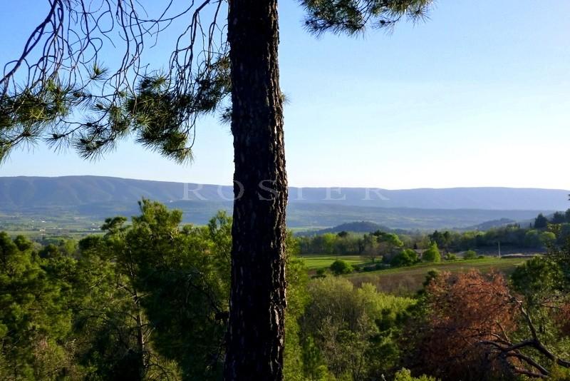 Proche Gordes & Roussillon, à quelques minutes des autres villages perchés du Luberon, vaste propriété d'architecte avec piscine et dépendances sur plus de 4 hectares de terrain.