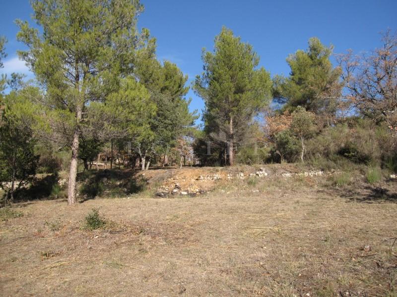 Luberon, à vendre, terrain constructible de plus de 5 000 m² avec permis accordé