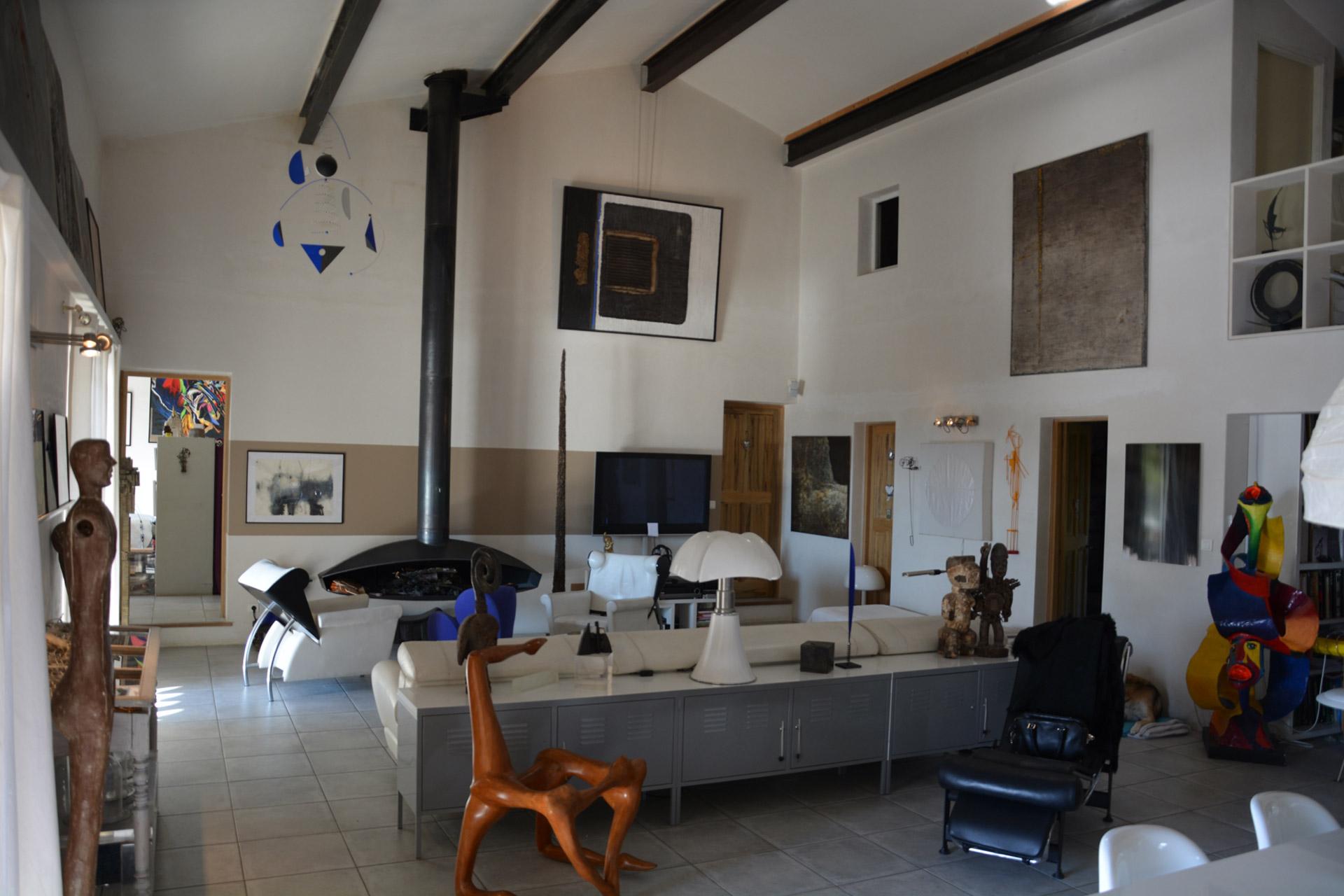 Luberon - Maison de village avec vues.