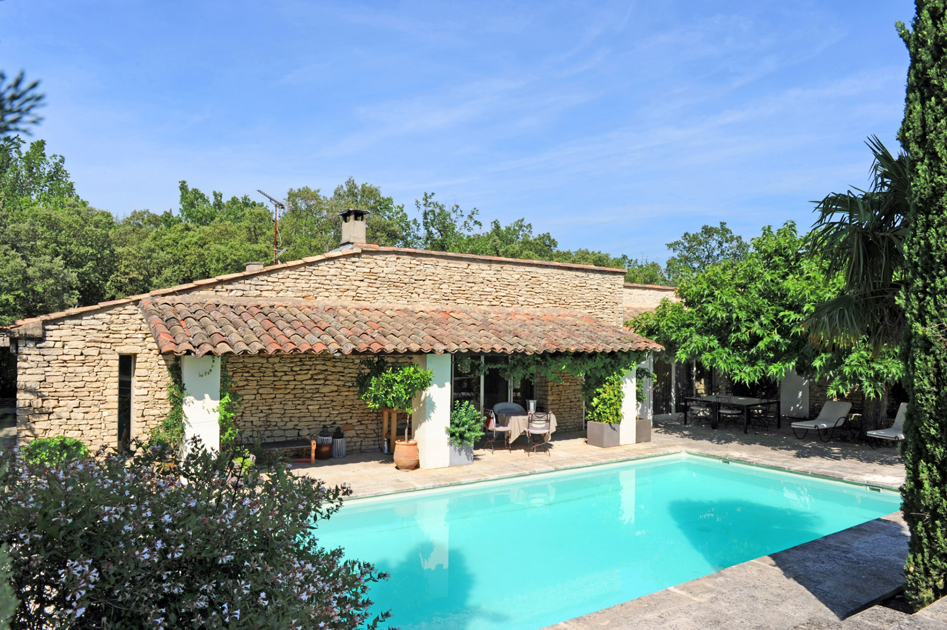 for sale near gordes exceptional estate with 2 houses loft 2 pools