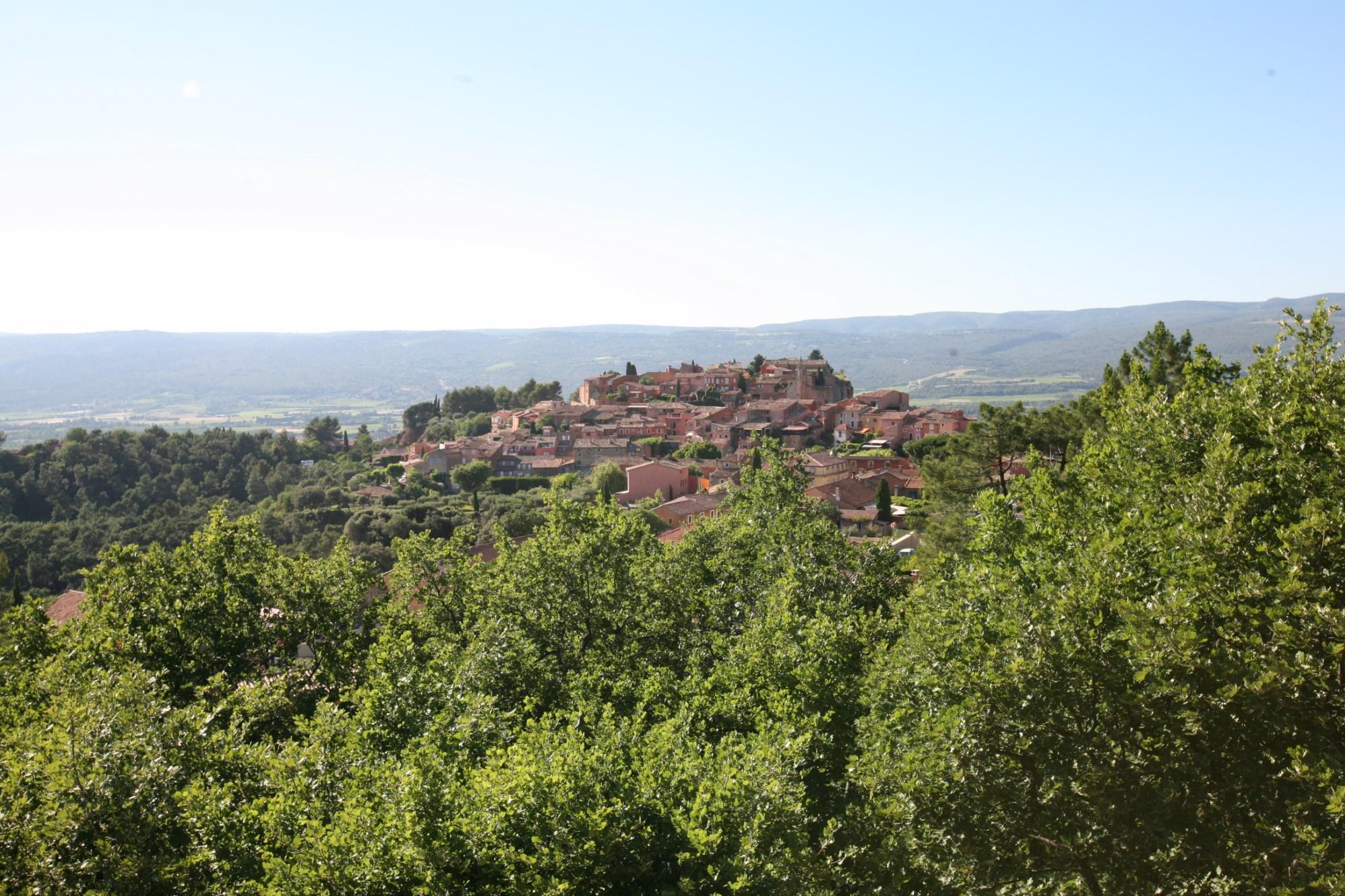 Maison d'architecte avec vues exceptionnelles, sur les hauteurs de Roussillon