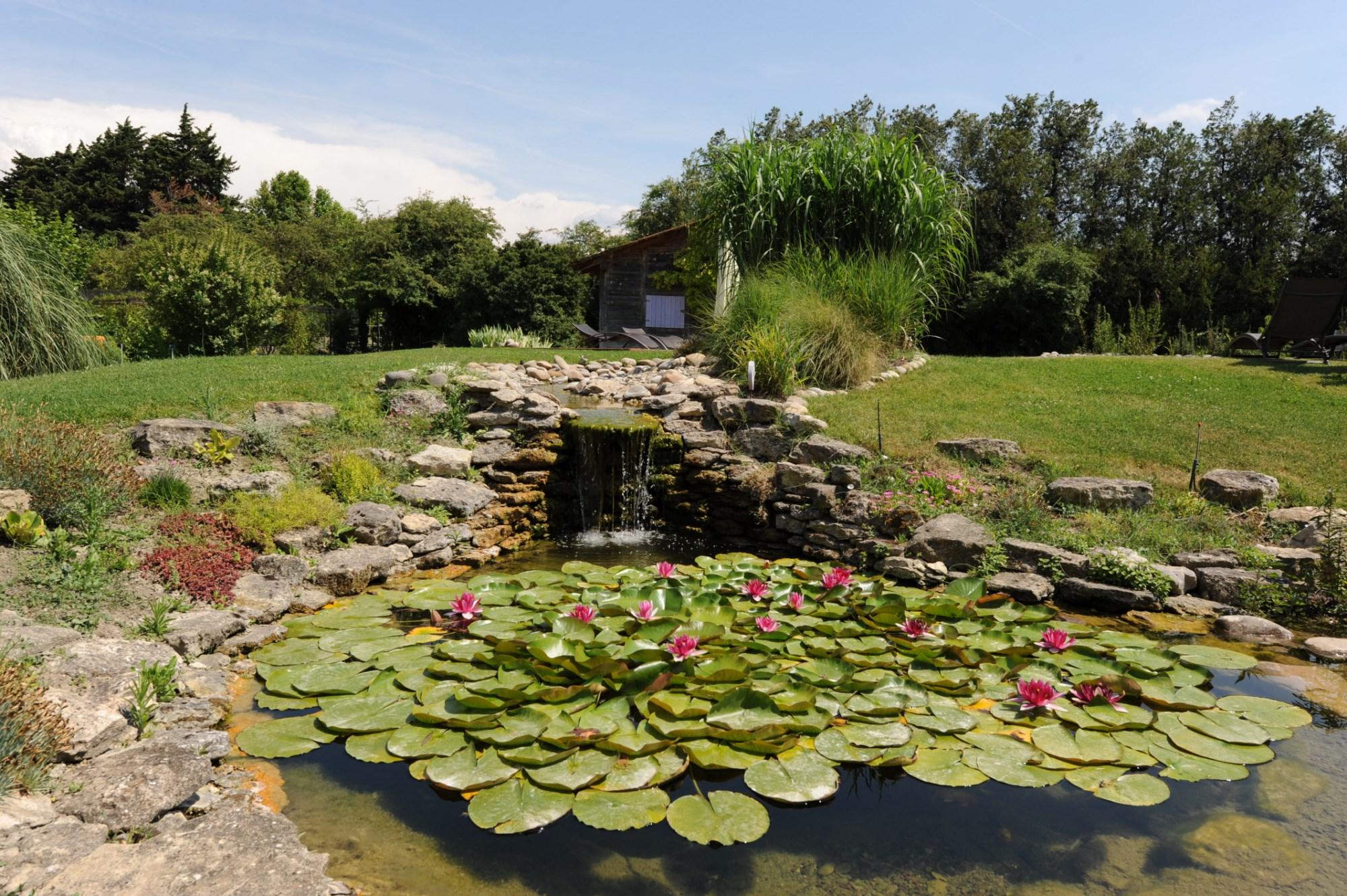 Pays de Sorgue, à vendre mas ancien restauré avec soin sur plus d'un hectare de terrain