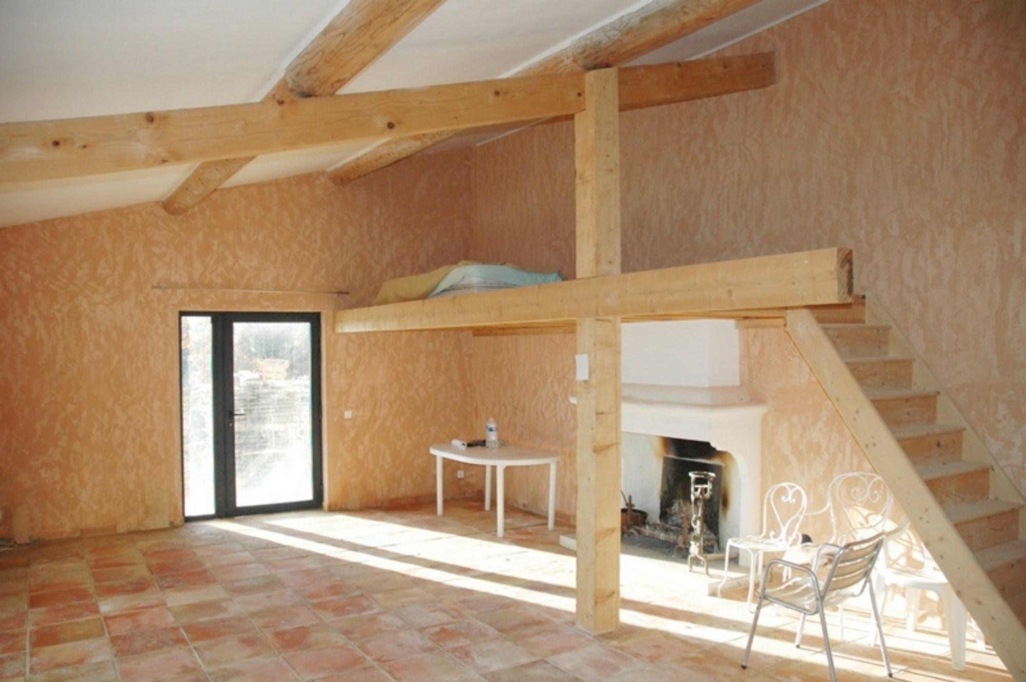 A vendre, Luberon, maison de plain pied, studio et maison d'amis avec vue
