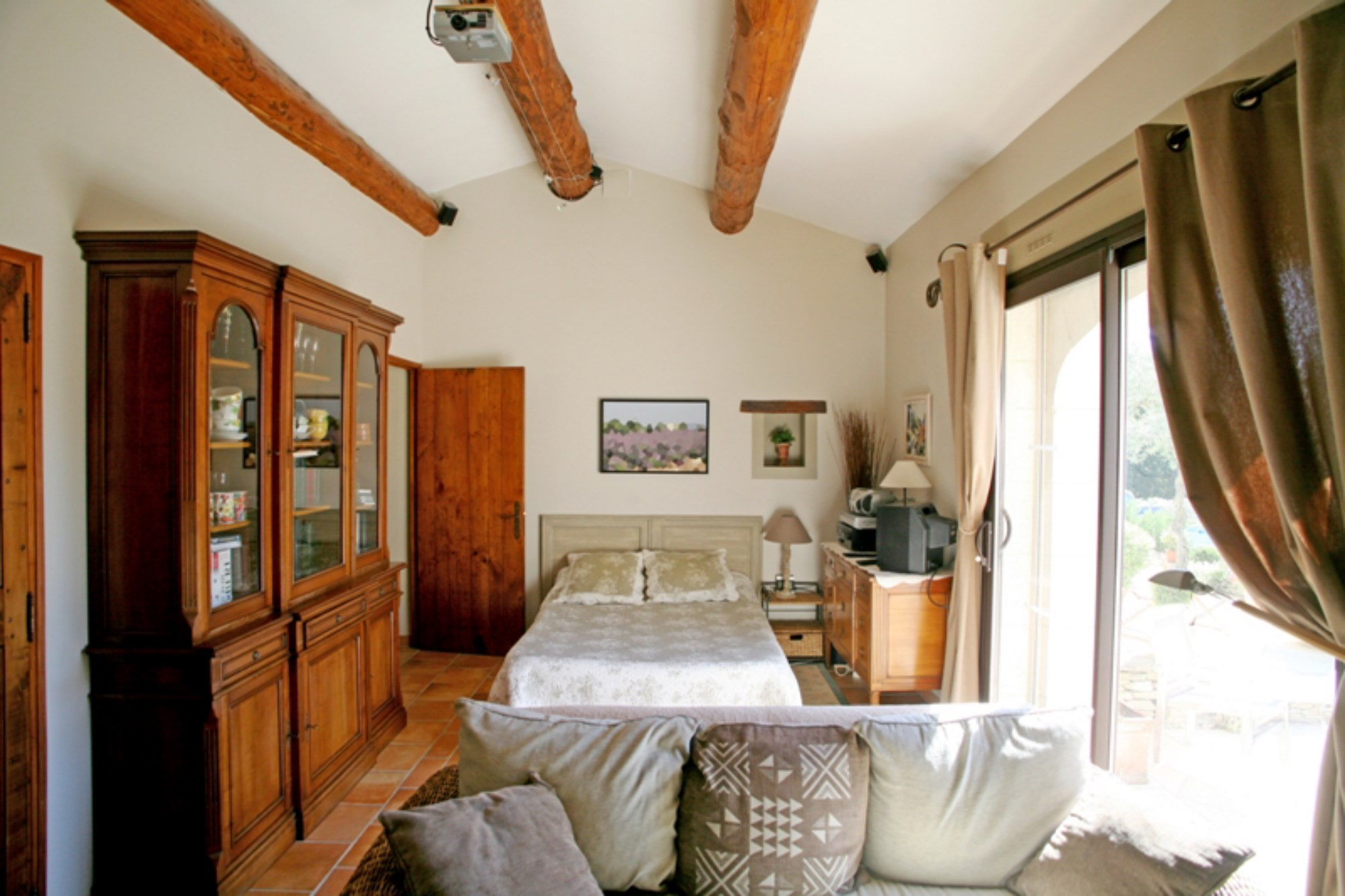 Near Gordes in Luberon for sale lovely house with terrace garden ...