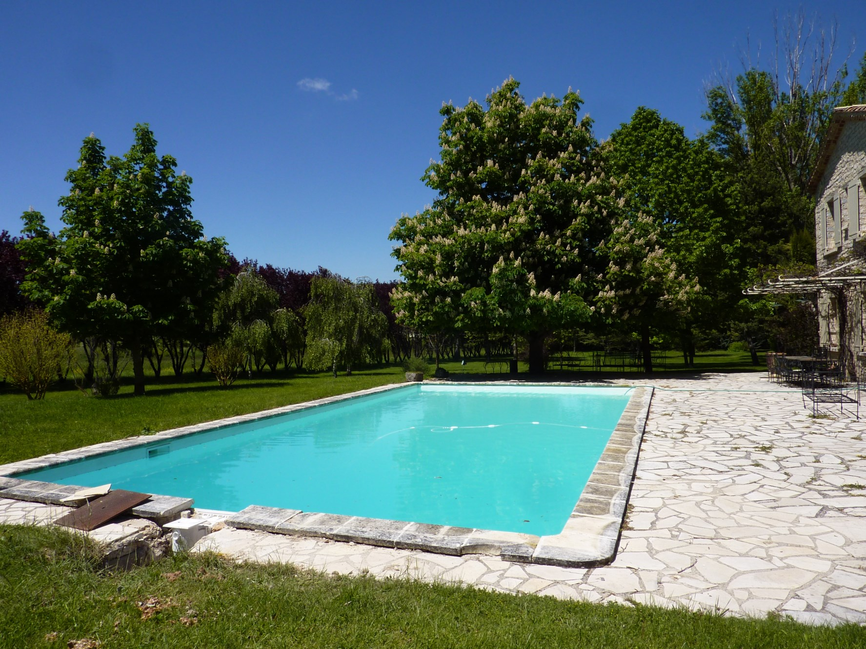 In Pays De Sault For Sale Family Property Surrounded By A Outstanding Park With Swimming Pool