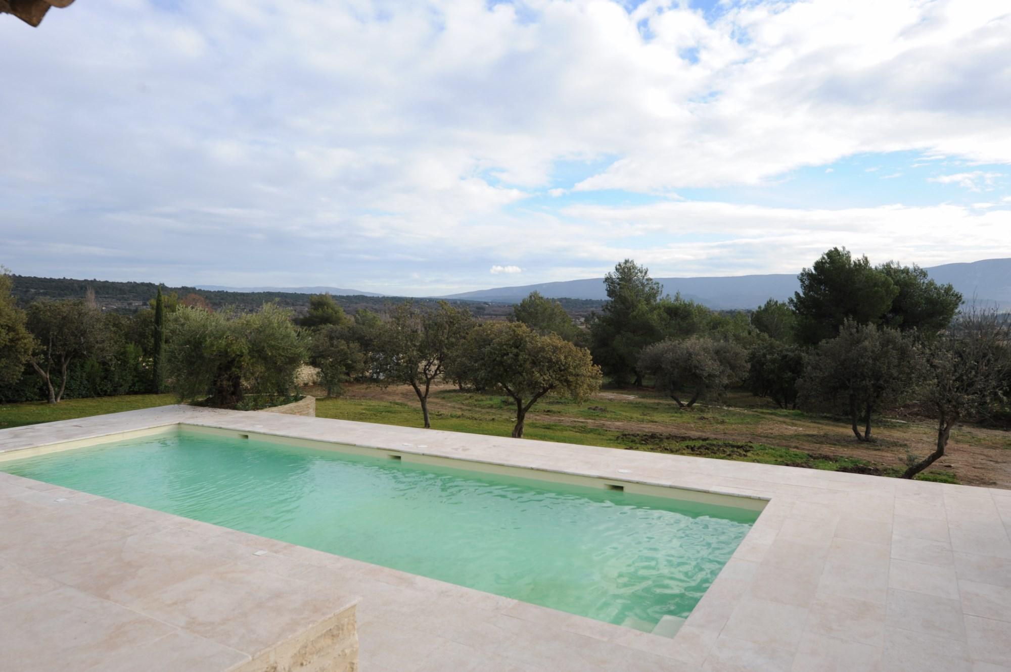 Vue sublime sur le Luberon Provence