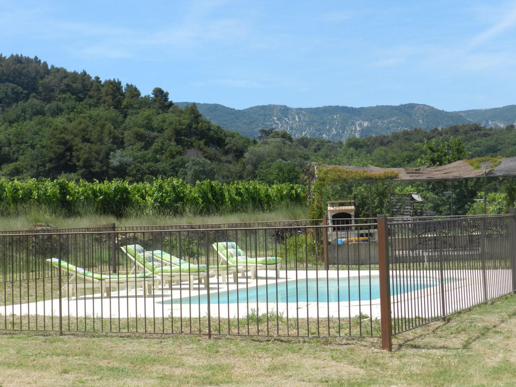 Maison avec piscine et vue à vendre en Luberon
