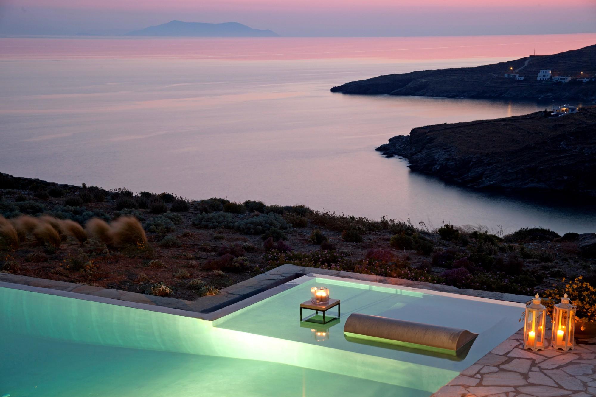 Villa avec vue à vendre en Grèce