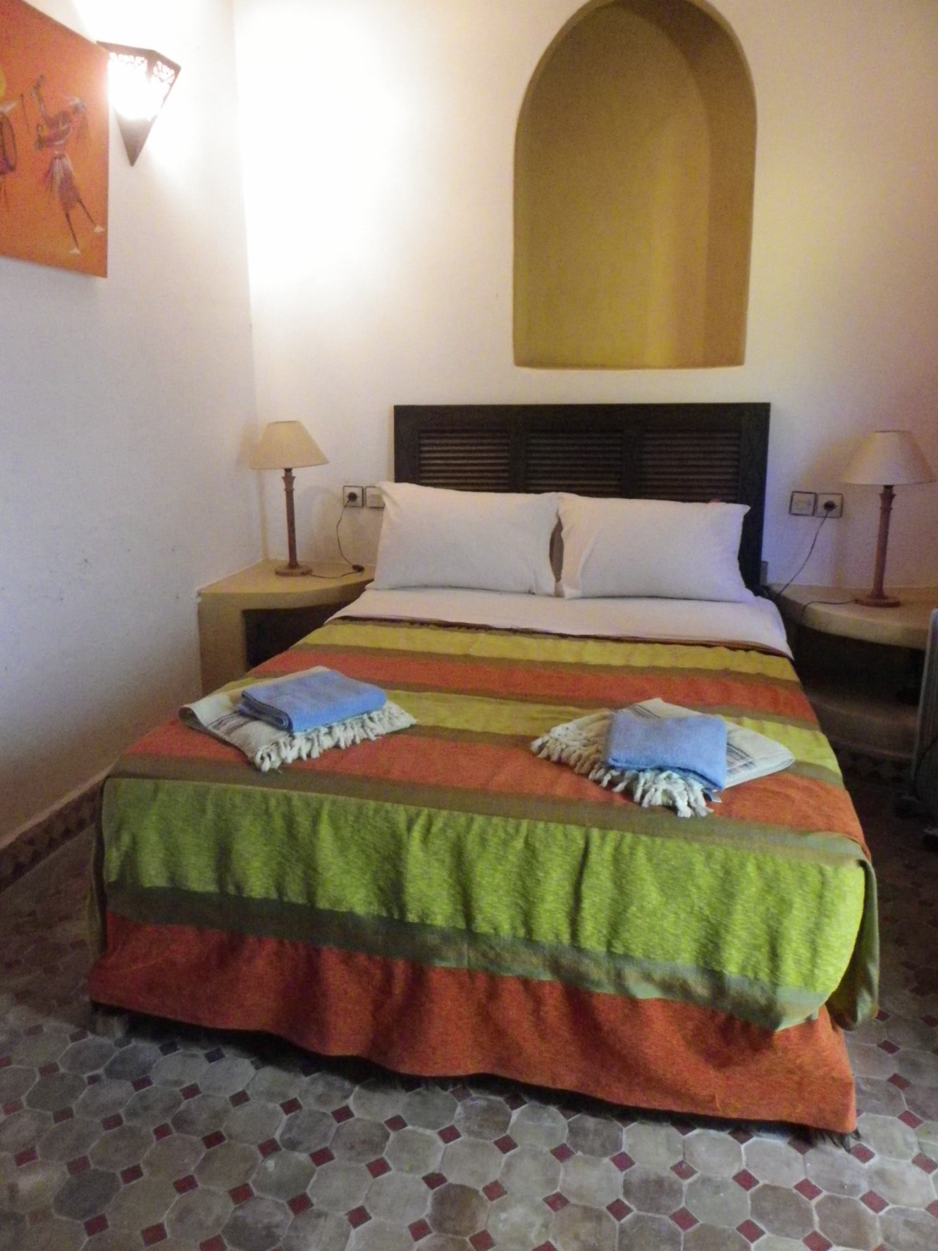 Au Maroc, une Villa très fonctionnelle à la campagne tout en étant proche de tout