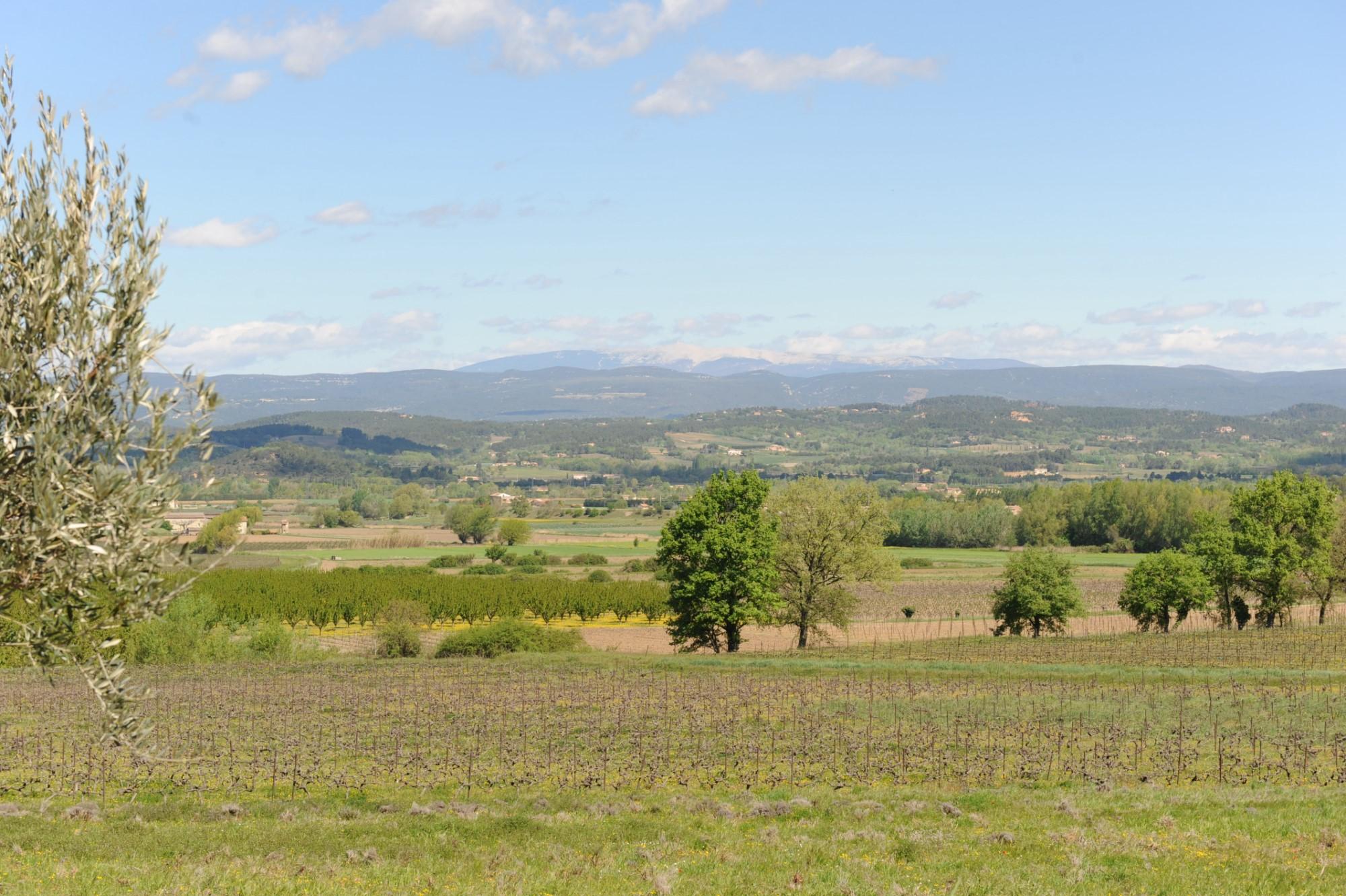 Propriété avec vue en Provence
