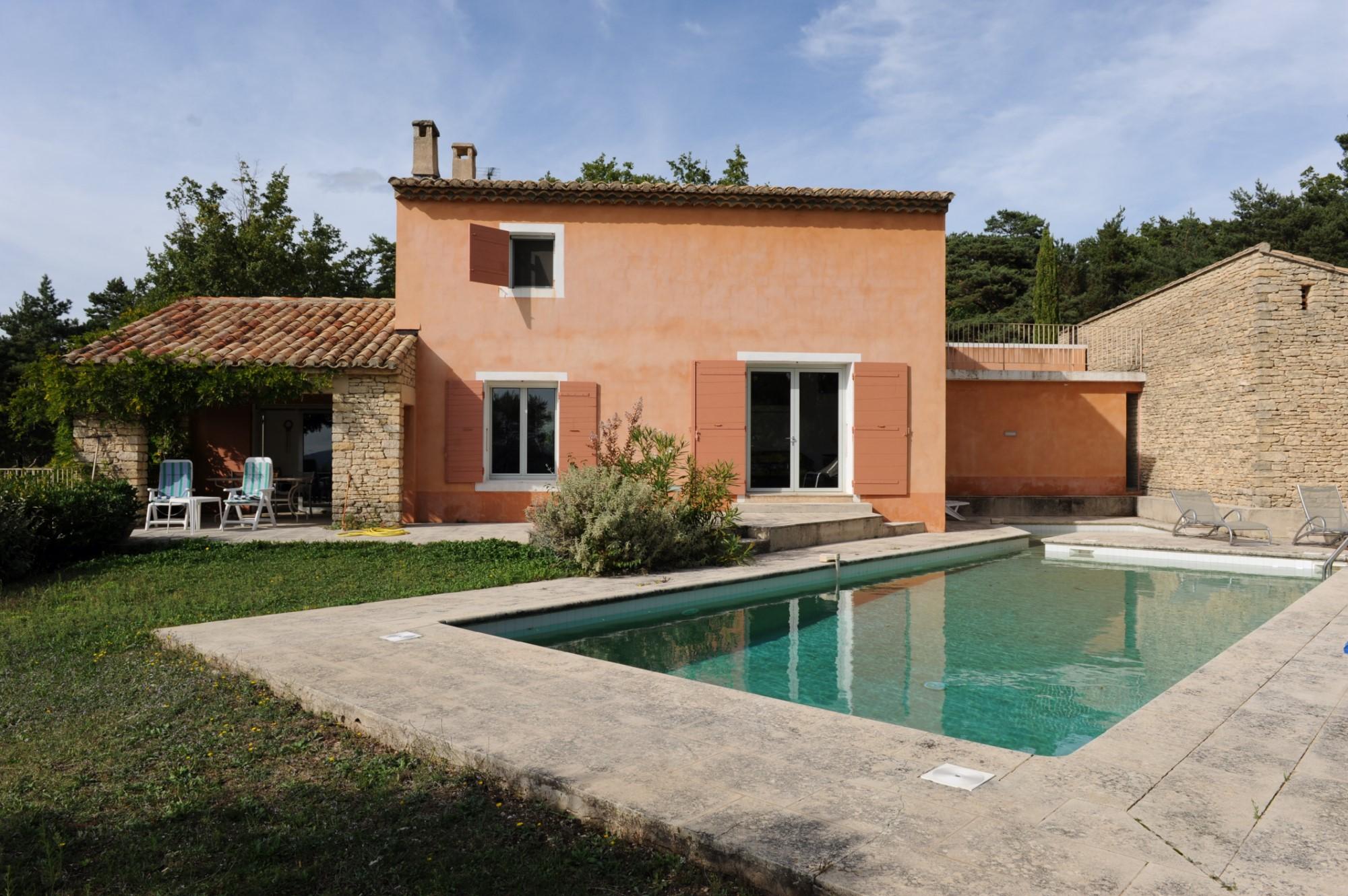 Maison contemporaine avec piscine à vendre en Provence