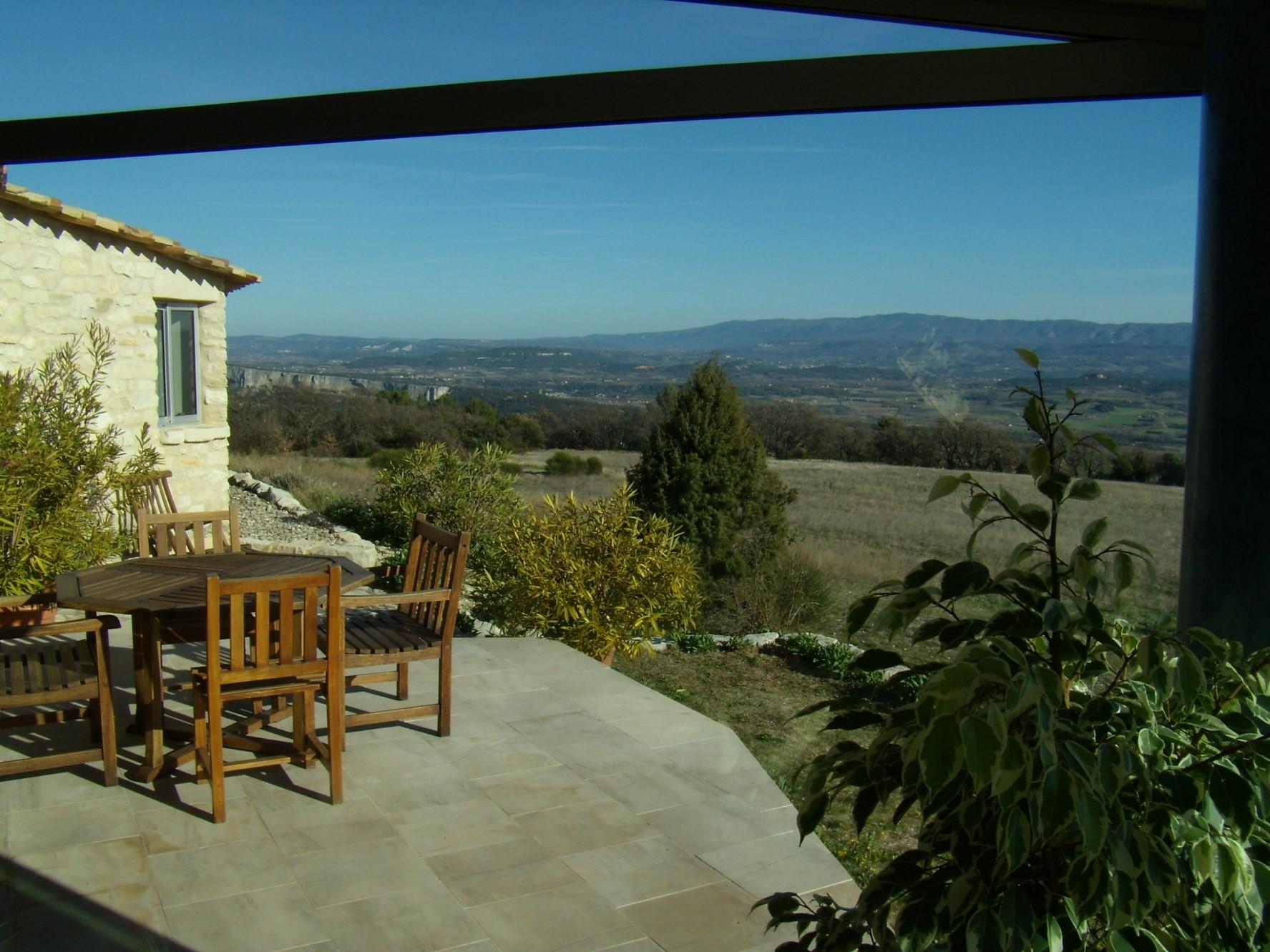 Maison contemporaine avec vue à vendre