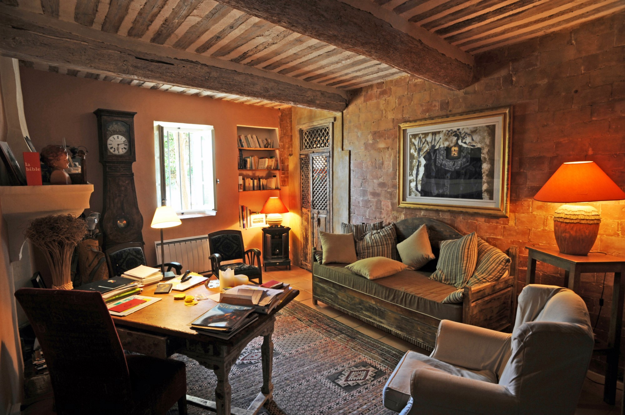 En vente,  en Luberon, maison restaurée du XVIIIème siècle