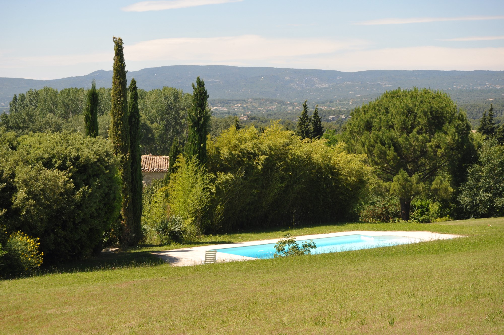 Vue imprenable Luberon Provence