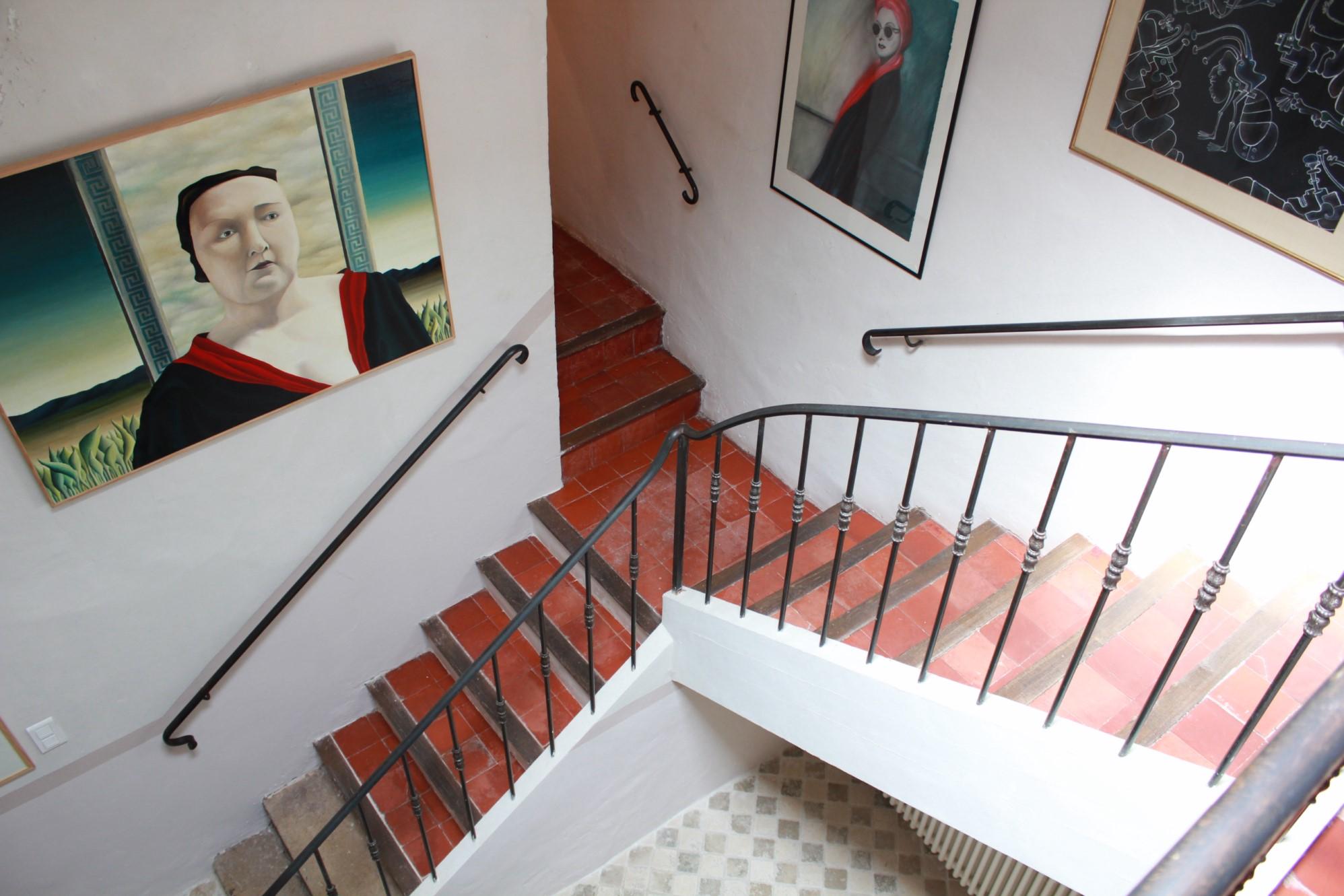 Magnifique maison de village aux beaux volumes en vente à Cabrières d'Avignon