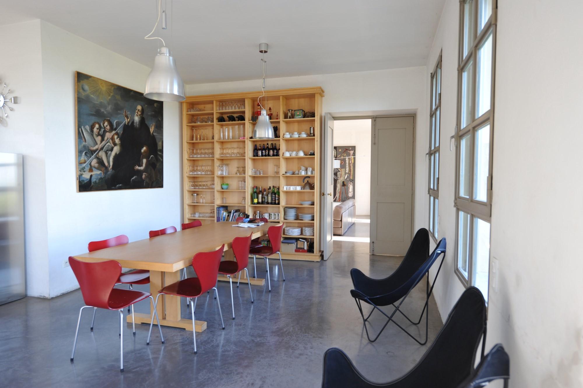 A proximité de la cité des Papes,  à vendre,  maison contemporaine d'architecte avec vues