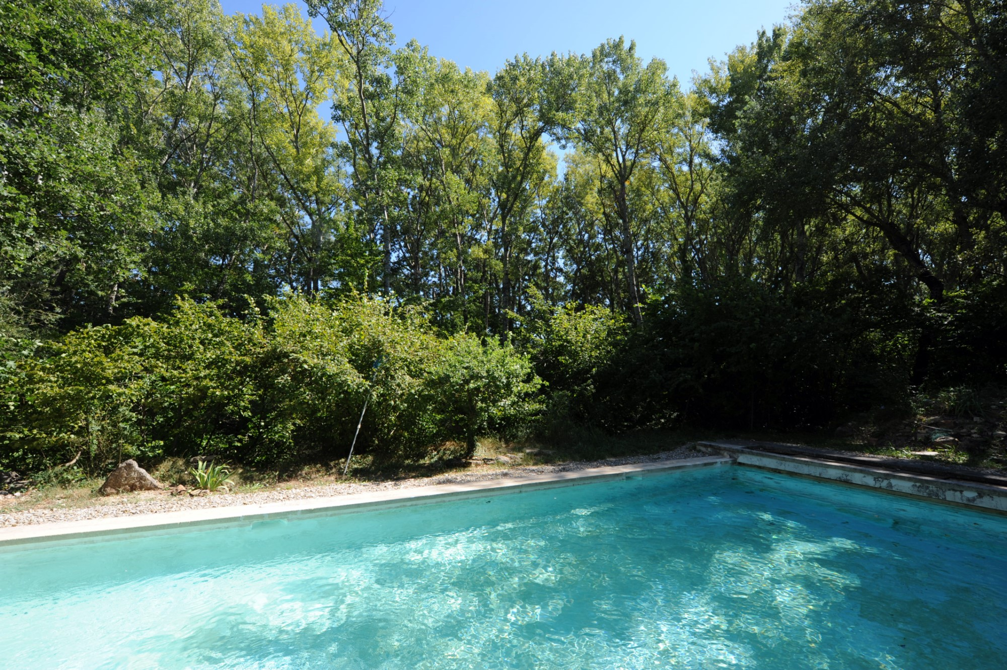 Entre Goult et Gordes, à vendre, authentique bergerie avec piscine dans un écrin de verdure