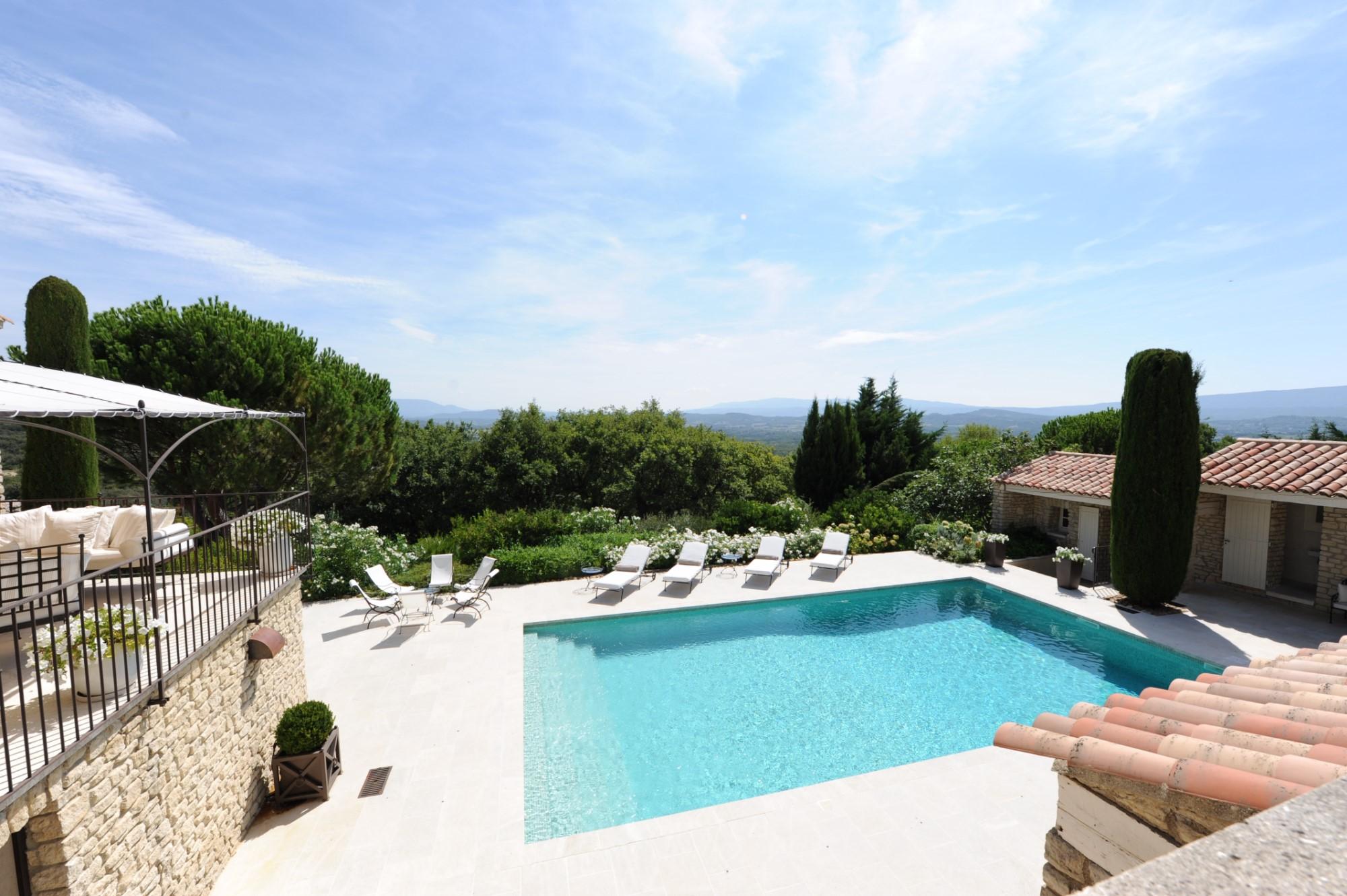 Propriété d'agrément avec parc paysager et piscine en Luberon