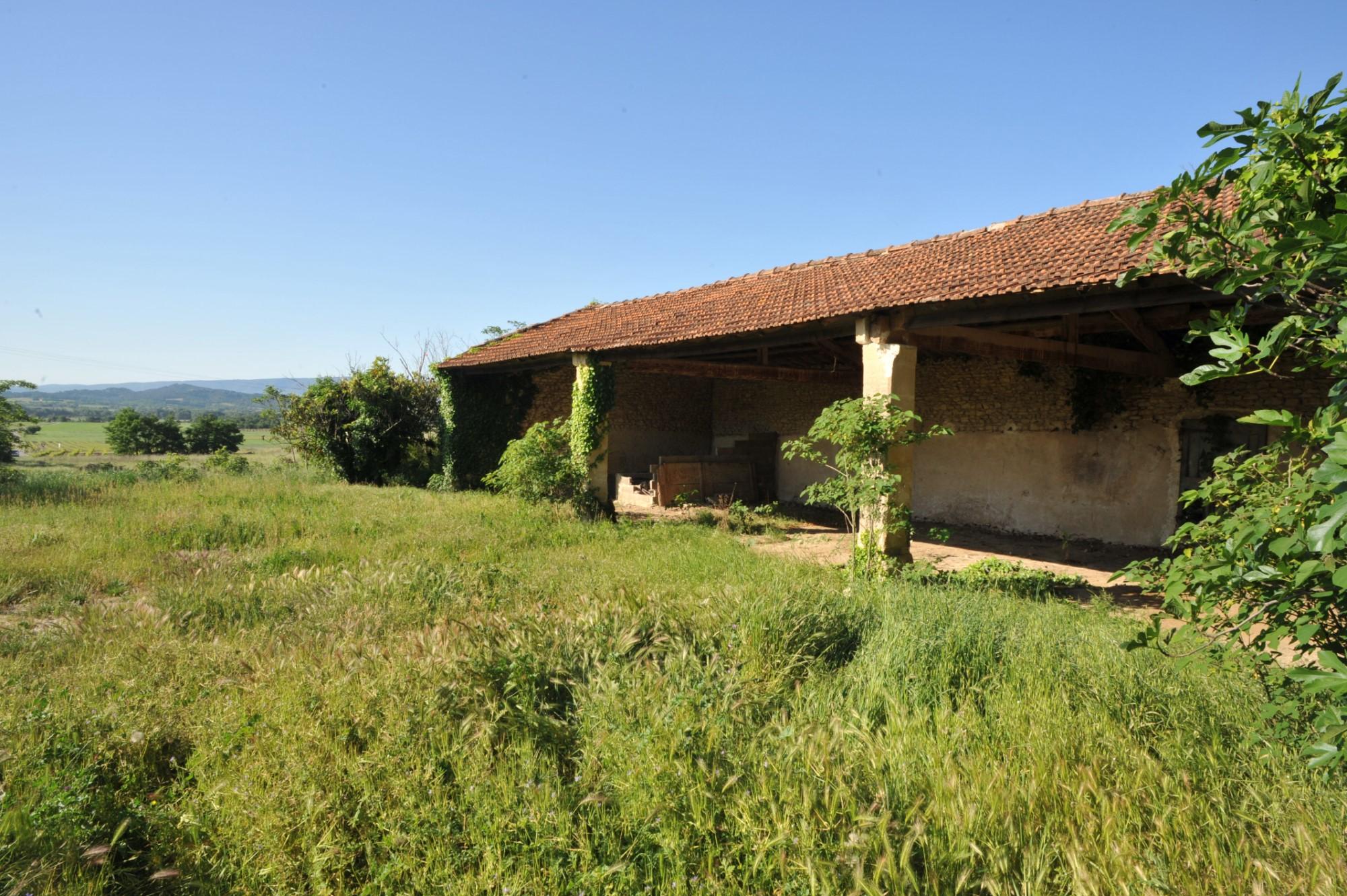 Vue dégagée en Provence