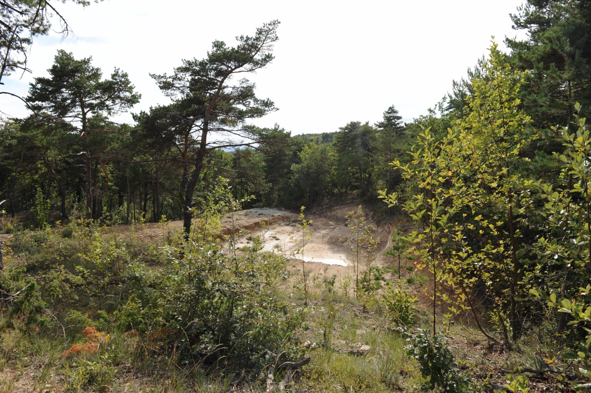 A vendre par ROSIER, terrain à bâtir avec permis en Provence