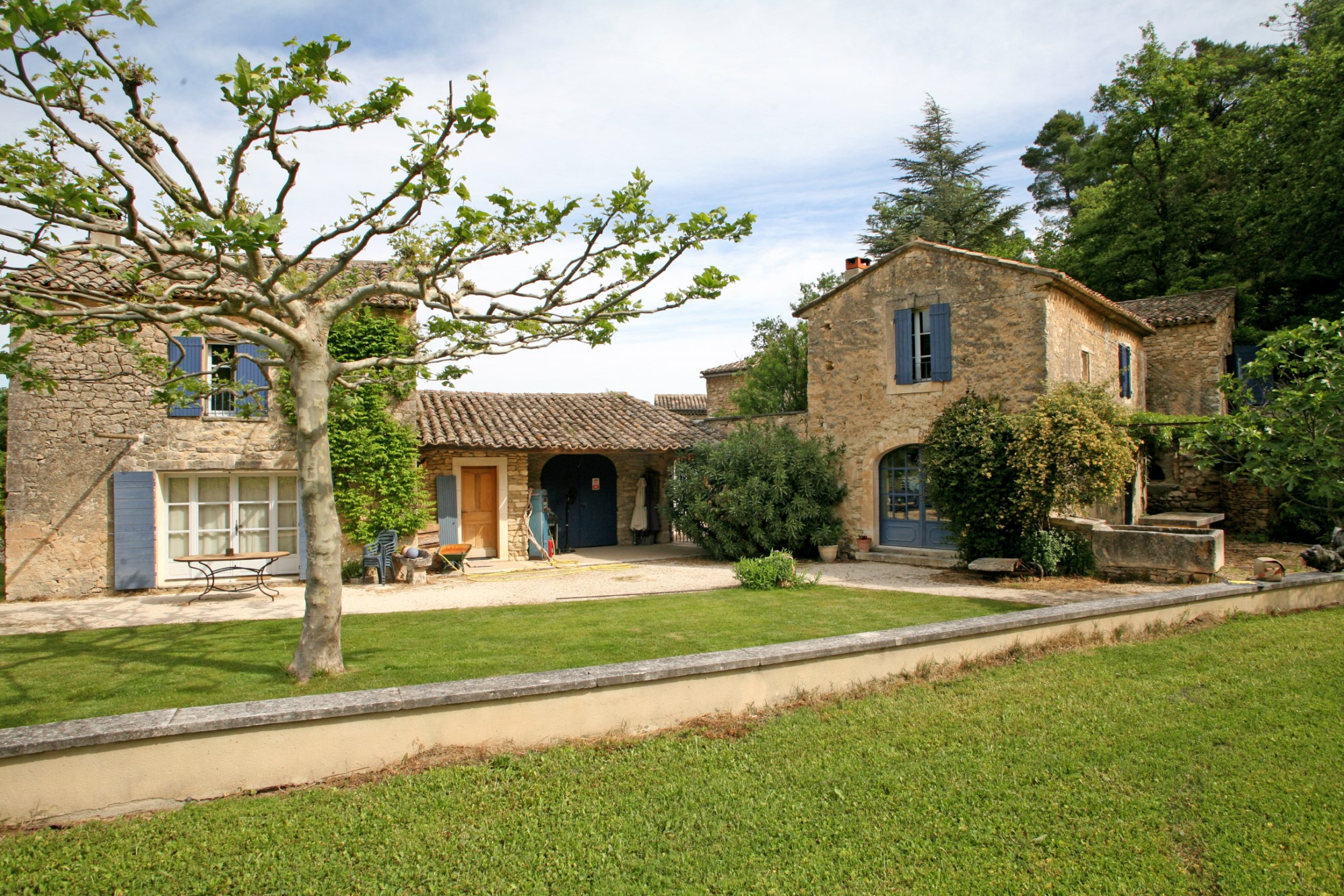 Mas Provençal avec annexe à vendre en Luberon