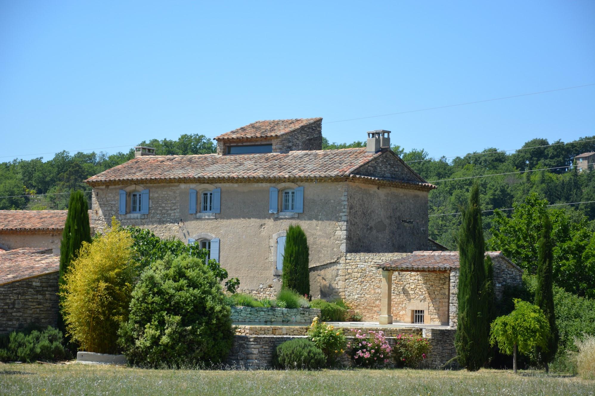 Mas à vendre dans le Luberon en Provence