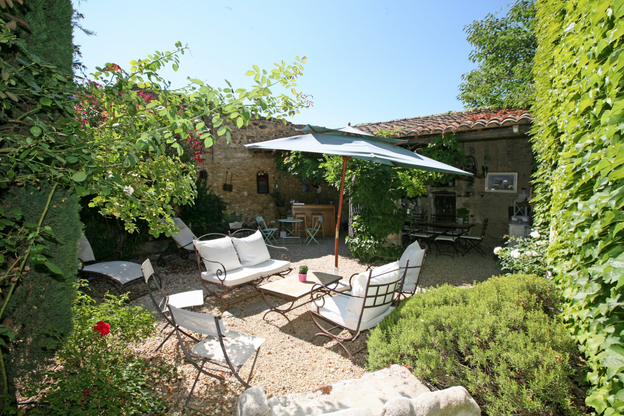 Propriété à vendre proche d'un agréable village du Luberon