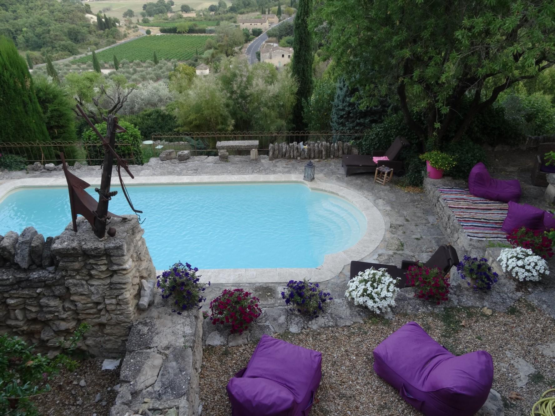Maison de village avec vue panoramique à vendre dans le Luberon