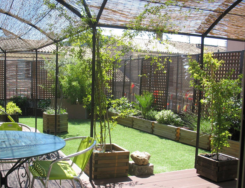 La terrasse de l'appartement à la vente