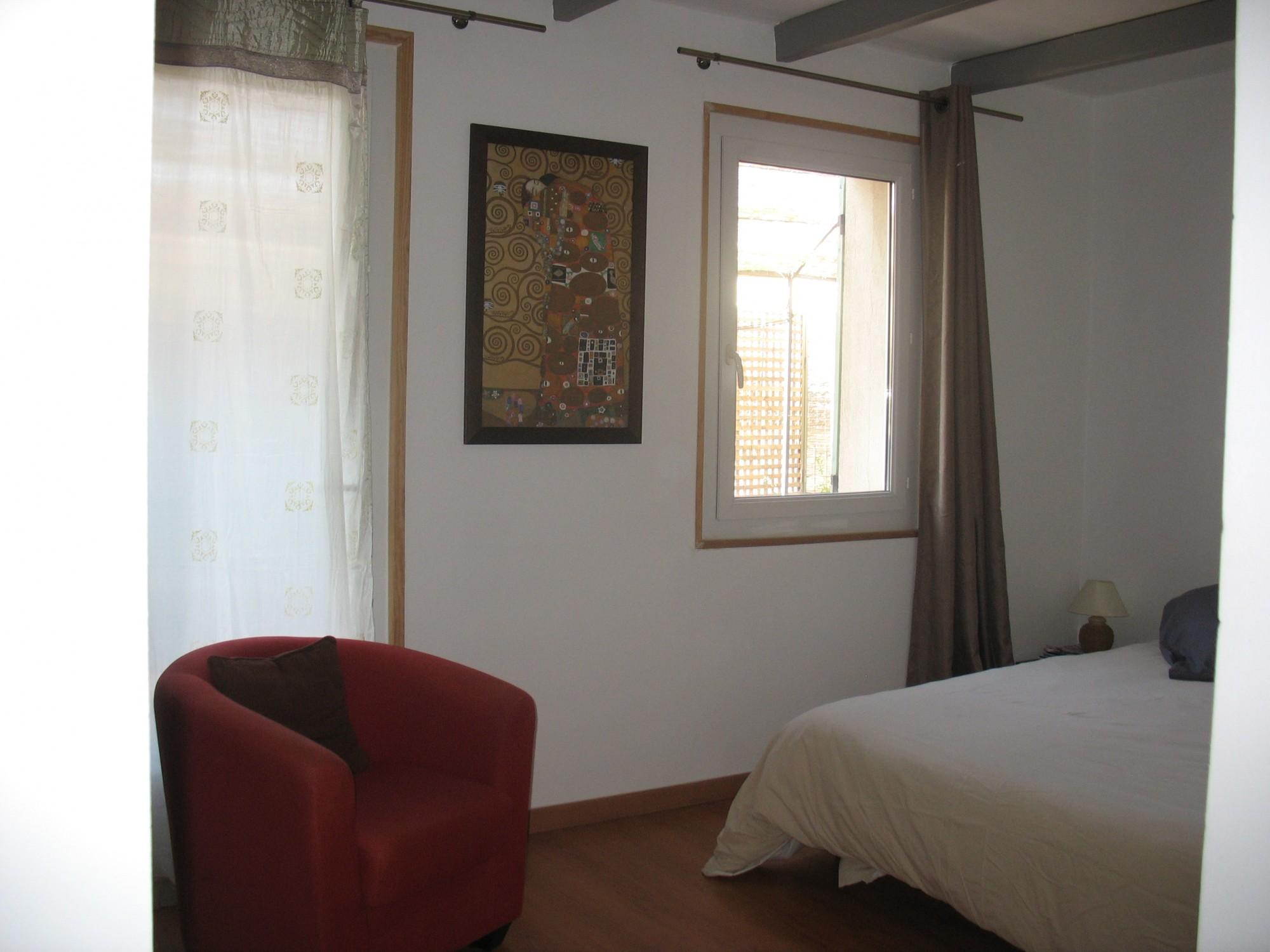 Une autre chambre de l'appartement
