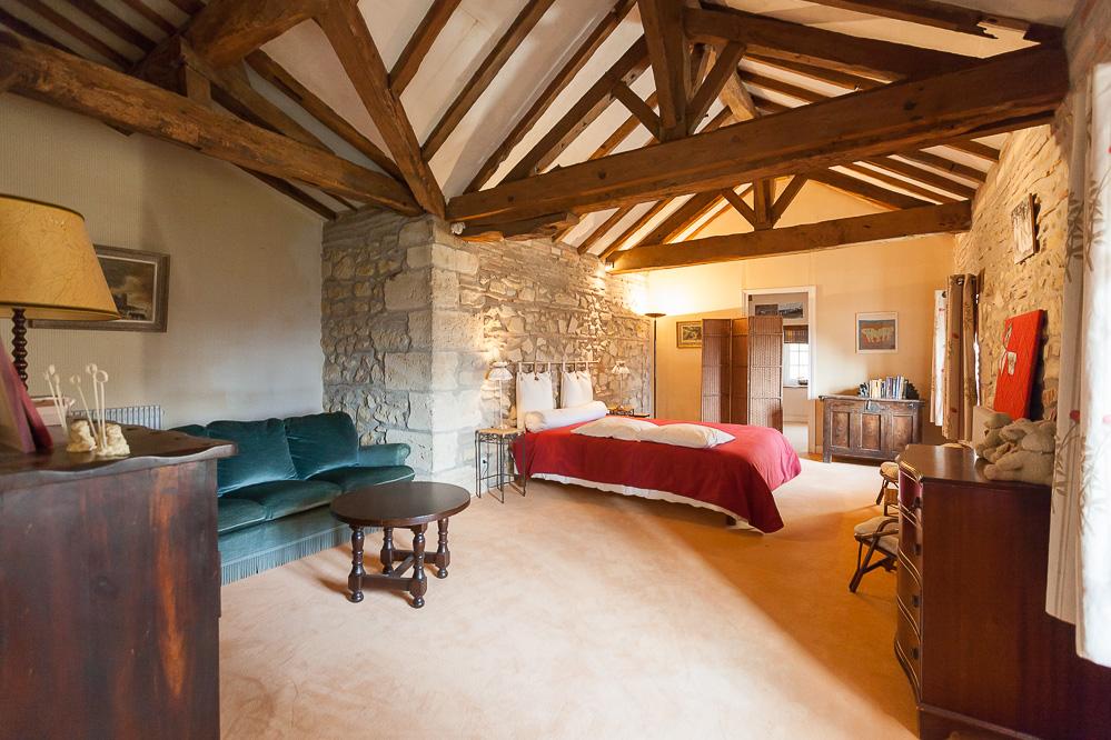 En Aquitaine, à vendre,  demeure de prestige des XVIIIème et XIXème siècles sur 12 hectares