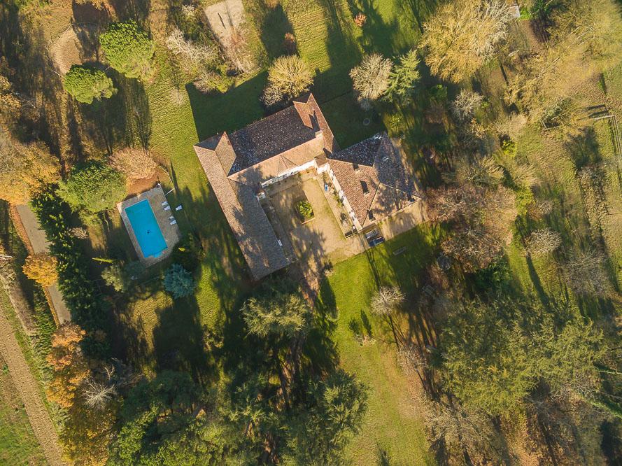 Demeure de prestige des XVIIIème et XIXème siècles sur 12 hectares de terrain