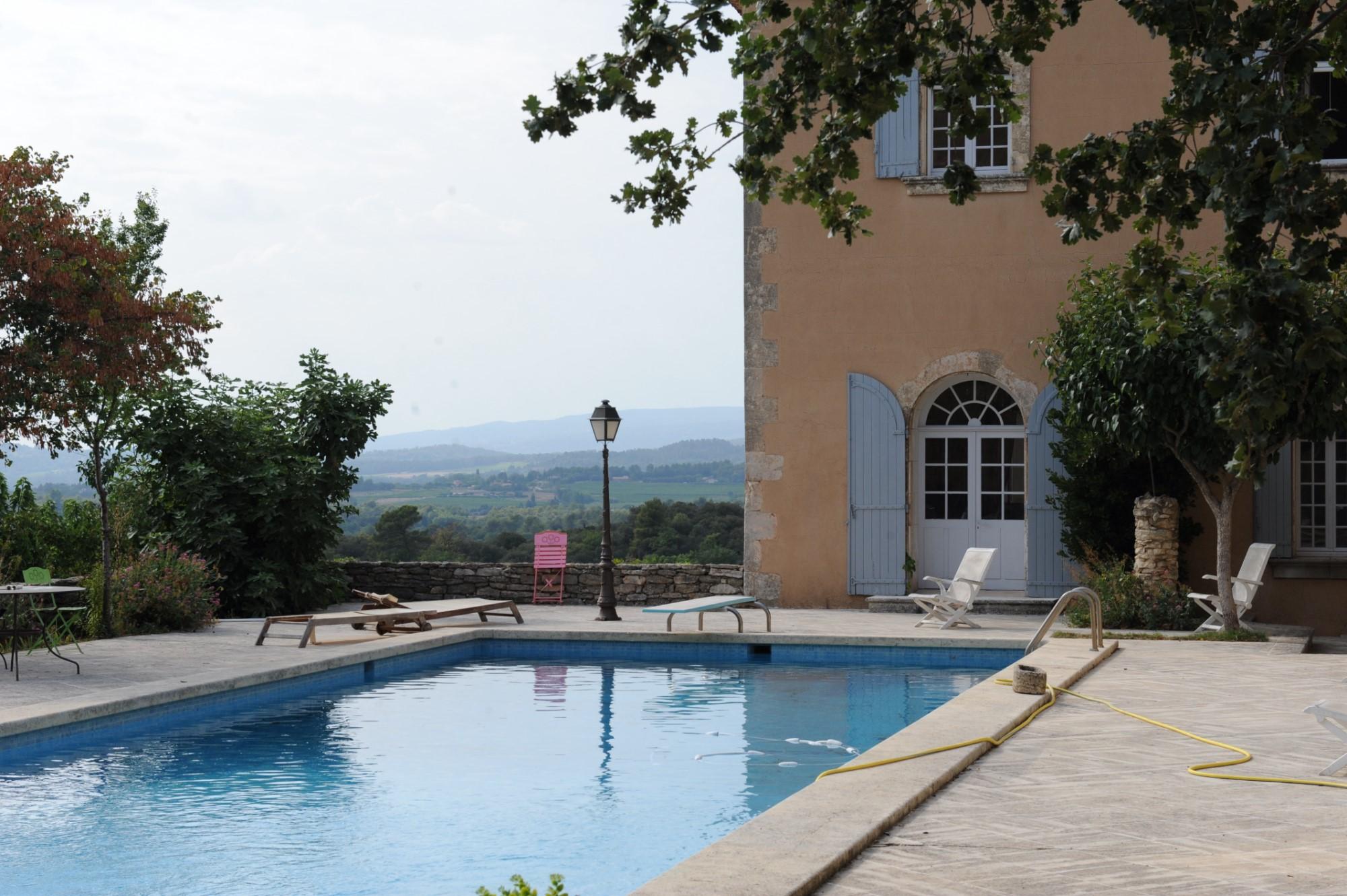 Propriété viticole avec piscine en Provence